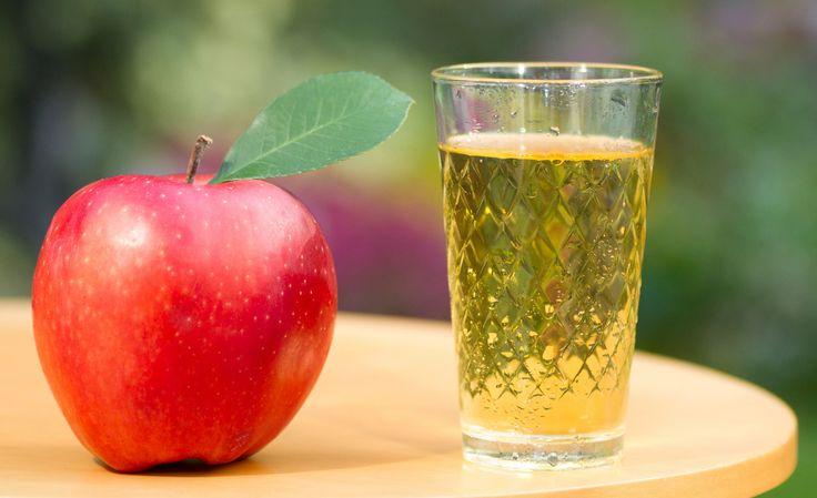 Licor de manzana casero