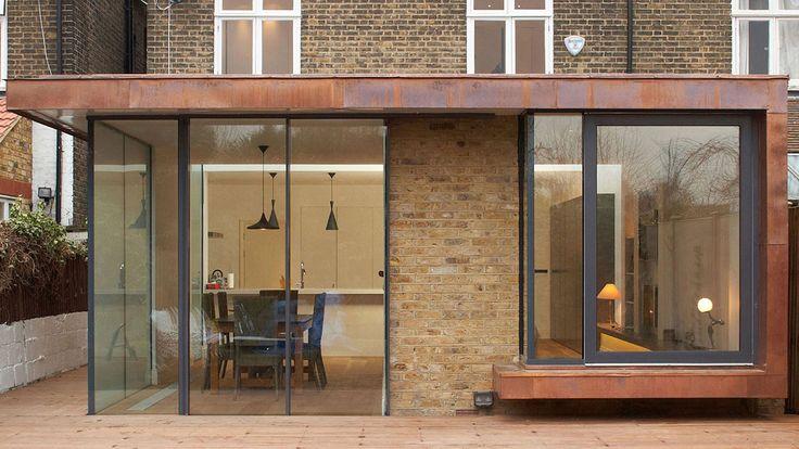 Melville Villa | Minale + Mann, London, UK. Copper extension.