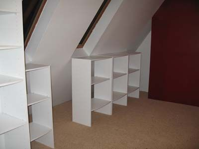 17 best Slanted walls images on Pinterest Master closet Attic
