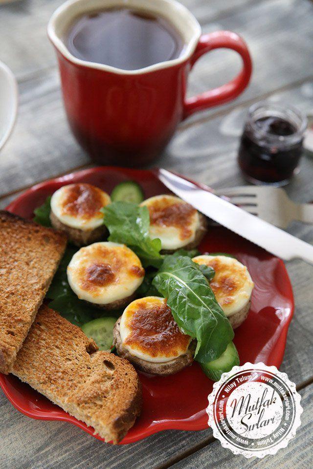 Fırında Yumurtalı Kaşarlı Mantar nasıl yapılır ?  Tarifin püf noktaları, binlerce yemek tarifi ve daha fazlası...