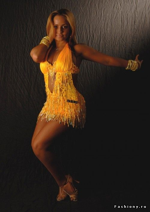 Танцевальная мода / платья для бальных танцев латина