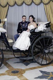 Gran ballo delle debuttanti made in ALTAMODAMILANO.IT gli abiti da sposa realizzati in esclusiva per l'evento