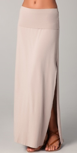 Splendid  Maxi Skirt / Dress with Slit  Style #:SPLEN40389  $104.00