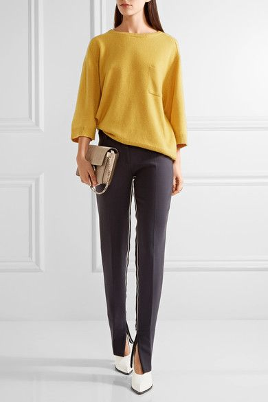 Chloé - Iconic Cashmere Sweater - Mustard - x small