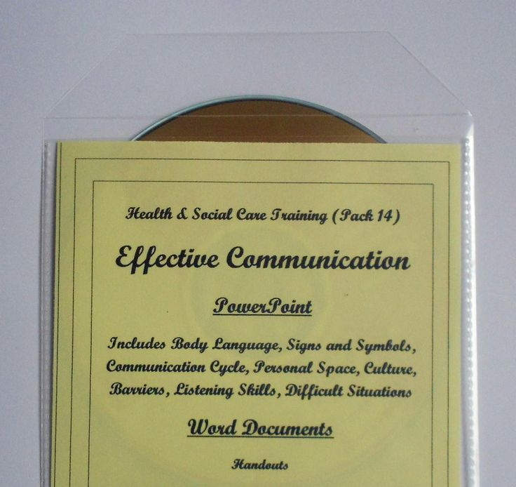 Effective communication skills for the caring