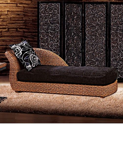 Indoor Rattan Chaise Lounge Chairs