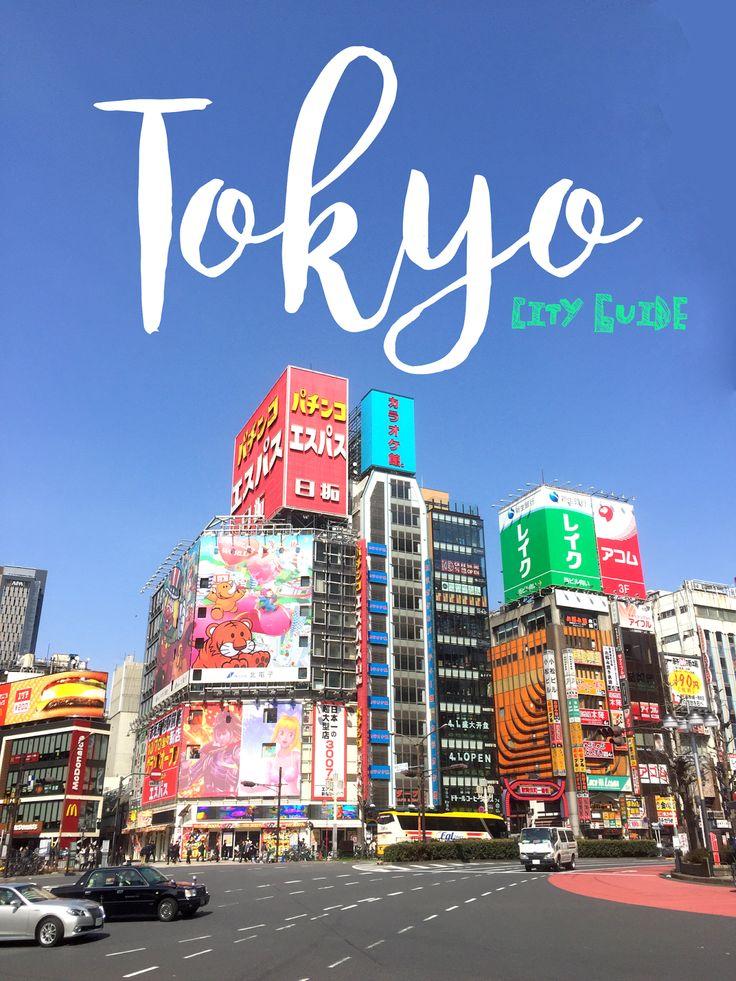 Tokyo City Guide : préparer son voyage au Japon - Où dormir, comment se déplacer, que visiter à Tokyo, je vous dis tout !