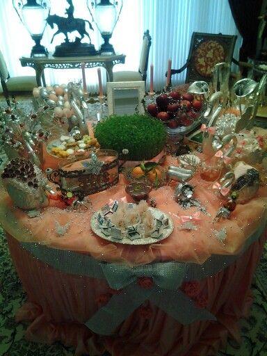 Persian Haft Sin Eid Nowruz Table EidPersianTablescapesDining Room
