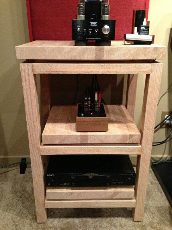 Inspirational Diy Stereo Cabinet Plans