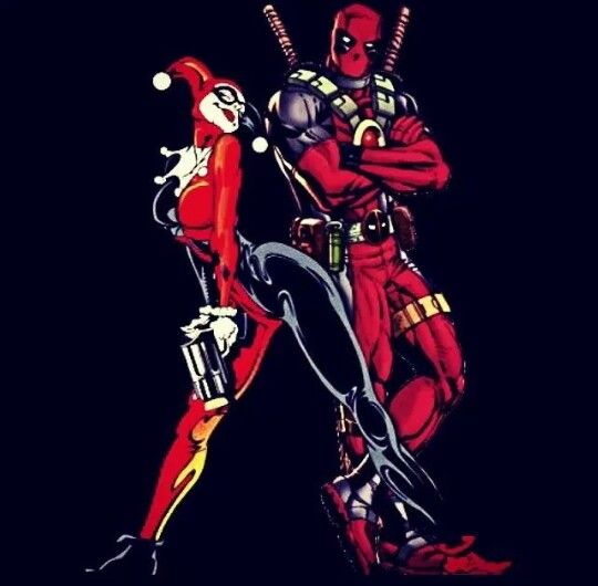 Deadpool And Harley Quinn 100 best Harley Quinn ...