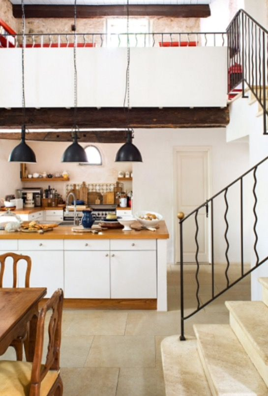"This kitchen is from our feature ""A Leading Role"""
