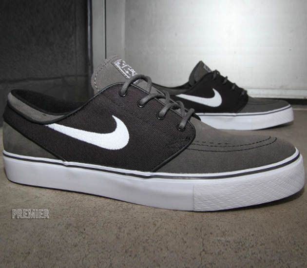 Nike SB Stefan Janoski Low – Midnight Fog / White - Black