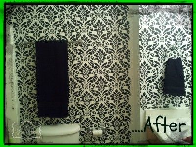 Check Out This Killer Bathroom Makeover A Little Paint And A