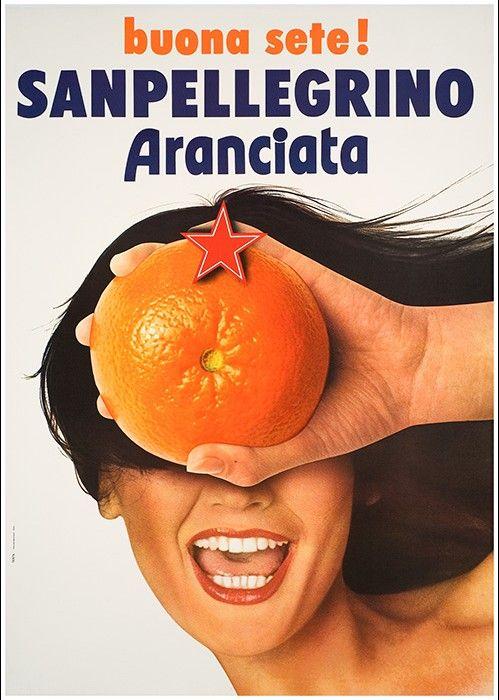 Aranciata San Pellegrino Autore   Testa Armando
