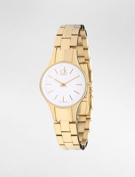 A less pricey gold watch (CK Simplicity Gold watch)