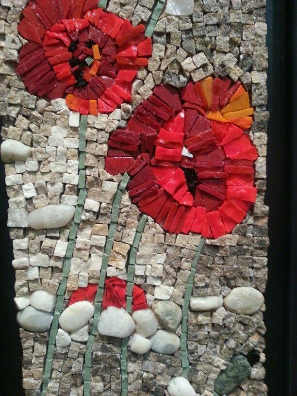 Poppy mosaic...Bilijana