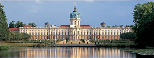 Schloss Charlottenburg - beautiful park to walk around. entrance for the castle is not free. s-bahn is in the back of the garden. busses infront of the castle.