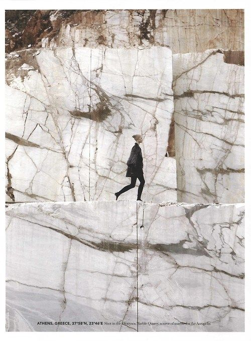 Athens, Greece - The Dionysus Marble Quarry