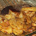 Pommes de terre fondantes au Cookéo. Un bon petit plat rapide à faire avec le cookéo! 5 grosses pommes de terre 1 oignon 100g de lardons 1 cs de farine ...