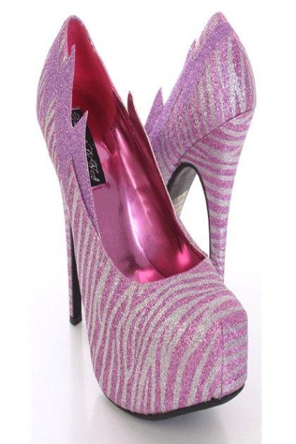 Pink Glitter Zebra Print Platform Pump Heels @ Amiclubwear Heel Shoes online store sales:Stiletto Heel Shoes,High Heel Pumps,Womens High Heel Shoes,Prom Shoes,Summer Shoes,Spring Shoes,Spool Heel,Womens Dress Shoes,Prom Heels,Prom Pumps,High Heel Sandals,