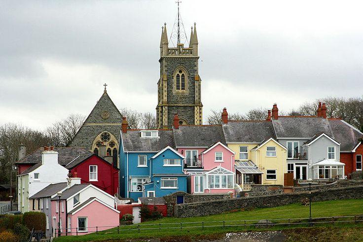 Aberaeron, Ceredigion, Wales, United Kingdom