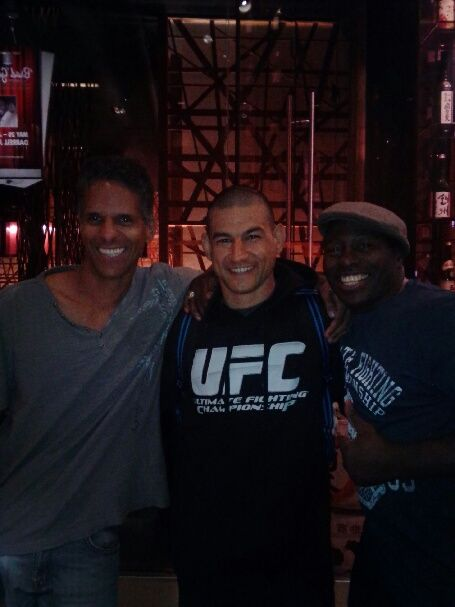 UFC night with peter cunningham