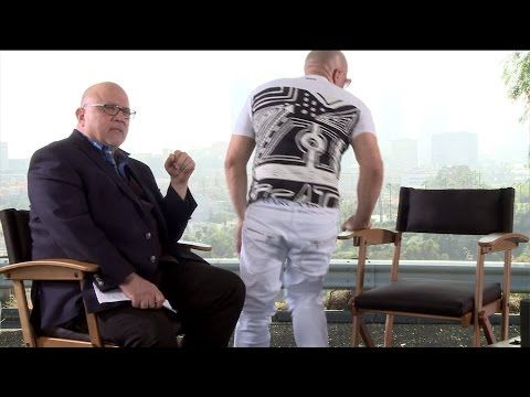 Vin Diesel gets emotional about Paul Walker, walks off interview - YouTube