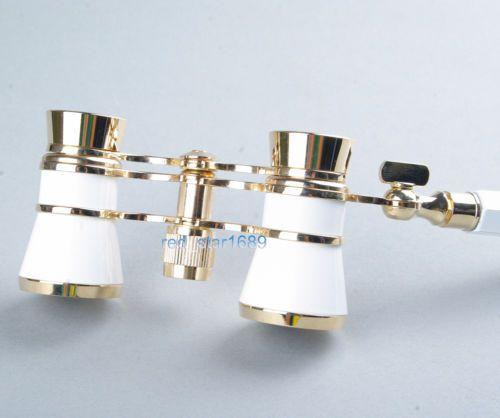 3x25 Glasses Coated Binocular Telescope Theater Opera Glass Lady Glass w Handle | eBay