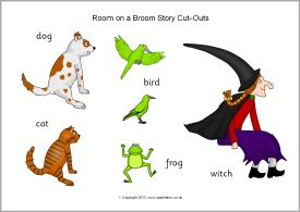 Room on a Broom story cut-outs (SB9999) - SparkleBox