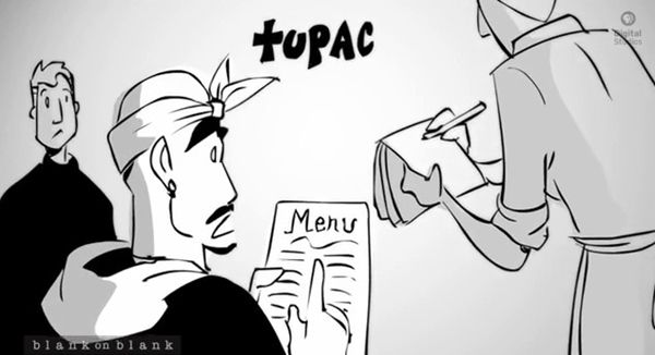 Uncut Tupac Interview From '94 Brought To Life In New Animated Video [Video]- http://getmybuzzup.com/wp-content/uploads/2013/12/Uncut-Tupac-Interview-From-'94-Brought-To-Life-In-New-Animated-Video.jpg- http://getmybuzzup.com/uncut-tupac-interview-94-brought-life-new-animated-video-video/-  Uncut Tupac Interview From '94 Brought To Life In New Animated Video By thedailyloud  Here is a interview from 1994, where Tupac Shakur sat down with Entertainment Weekly's Benj