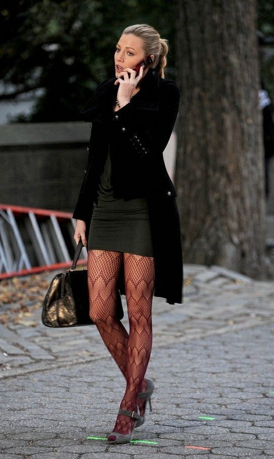 25 Ways To Wear Tights 2017 | Cuteness | Stockings outfit ...