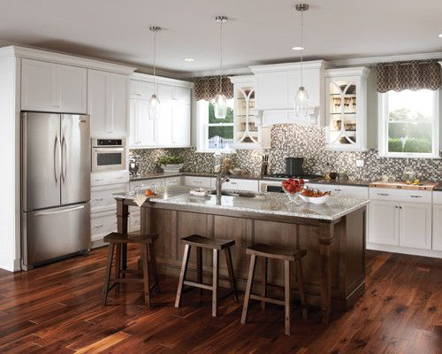 Schuler Kitchen Cabinets Antique White