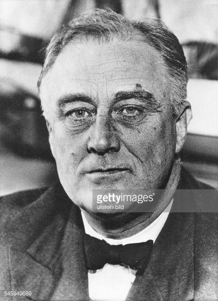 Franklin D.Roosevelt, Politiker, USA, Präsident : News Photos