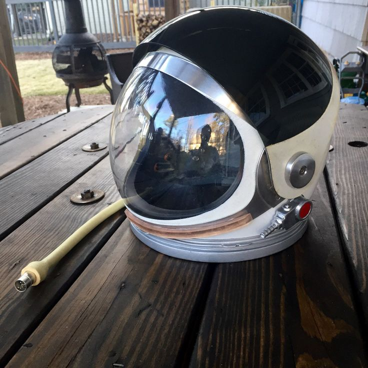 Space helmet replica