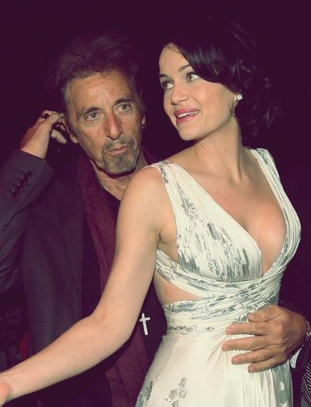 Carla Gugino and Al Pacino