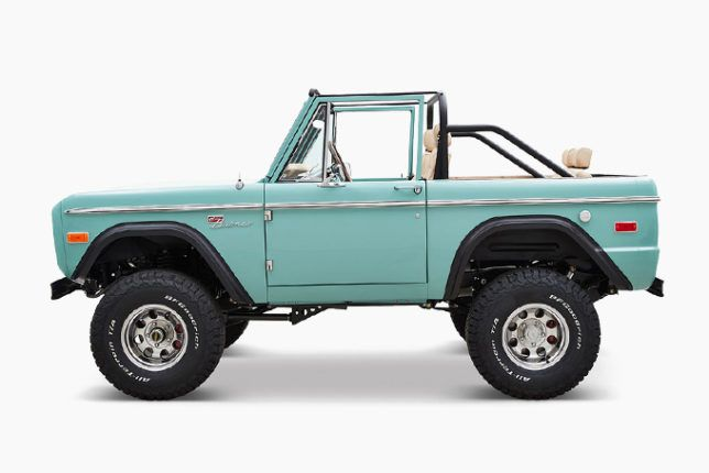 Cfb S Immaculate 1970 Ford Bronco Is Inspired By The Elite Seminole Golf Club In 2020 Ford Bronco Bronco Classic Ford Broncos