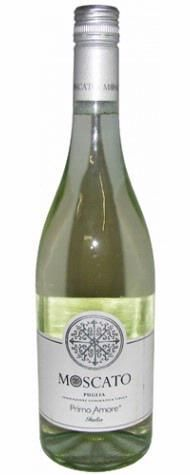Primo Amore Moscato wine - it is sweet and fruity. Discovered at Olive Garden and was very pleased. 9