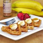From the American Waffles Breakfast Recipe Collection. These waffles have a nice banana flavor that's even better if you top them with additional banana slices and maple syrup.