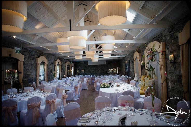 Amazing wedding reception in Ballymagarvey Village by Dylan McBurney