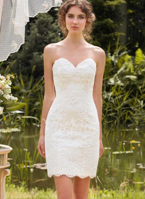 21 besten Kleid Standesamt Bilder auf Pinterest   Hochzeitskleider ...