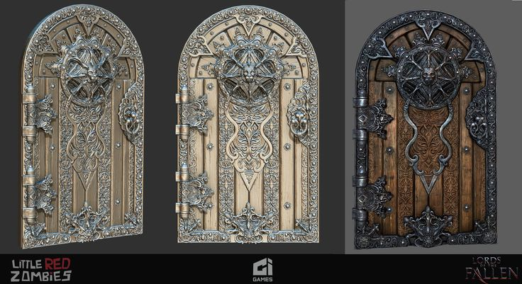 LOF door, sandeep saini on ArtStation at https://www.artstation.com/artwork/L8Oak
