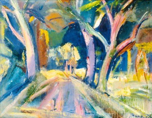terminusantequem:Márffy Ödön (Hungarian, 1878-1959), Forest...