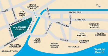 Ala Moana Center: Visiting Hawaii