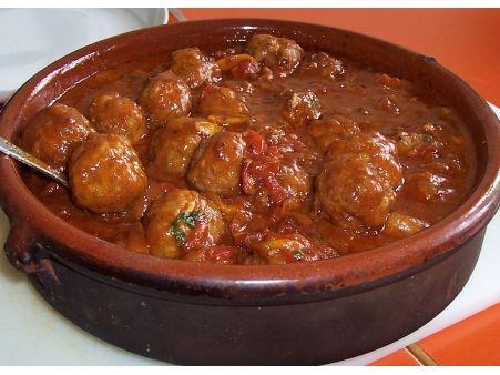 Tapas - Rezept für spanische Albondigas