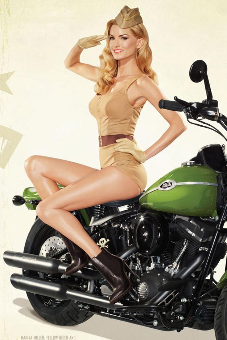 nude biker pin ups girls