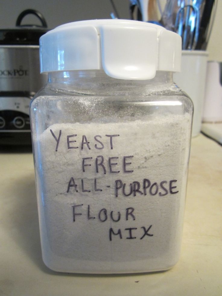 Yeast Free All Purpose Flour Mix