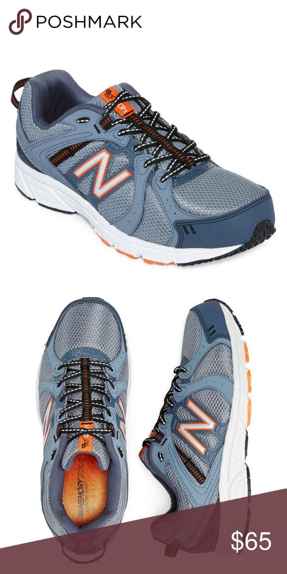 New Balance 520 Men's Training Shoes Nice 👍 Grey/Orange Combination of Colors and Comfortable New Balance Sneaker 👟 New Balance Shoes Sneakers