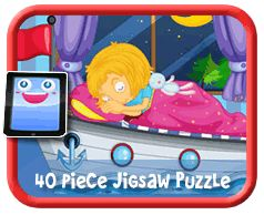 Boat Bed Online jigsaw puzzle for kids