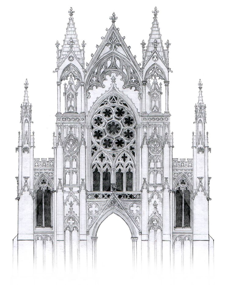 gothic church architecture essay Start studying art history possible essays learn  • gothic architecture came into existence during the  include in your essay their architecture as well as.