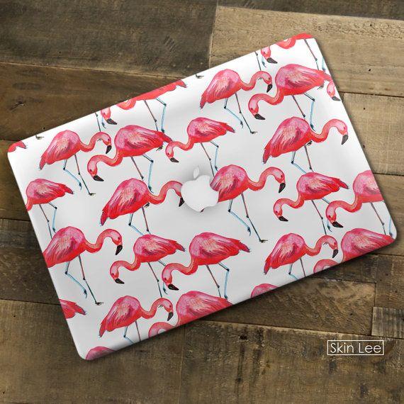 FLAMINGO Macbook Air Sticker Macbook Air Decal Macbook by SkinLee